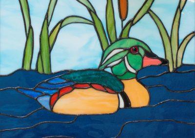 a-bird-duck-in window-b-Fournier, Jerry